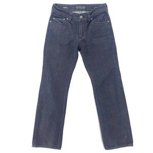 AFFLICTION Blake Coated Rinse Wash Straight Jeans